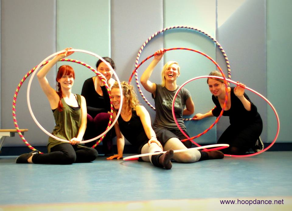 hoop dance video